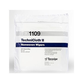 Picture of TechniCloth® II TX1109 Dry Nonwoven Cleanroom Wipers, Non-Sterile
