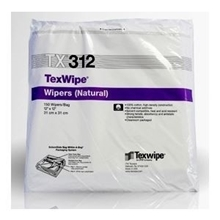 Picture of TexWipe® TX312 Dry Cotton Cleanroom Wipers, Non-Sterile