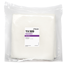 Picture of NuCotton® TX329 Dry Cotton Cleanroom Wipers, Non-Sterile