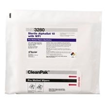 Picture of AlphaSat® with Vectra® Alpha® 10 TX3280 Pre-Wetted Cleanroom Wipers, Sterile