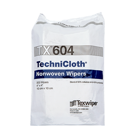 Picture of TechniCloth® TX604 Nonwoven Dry Cleanroom Wipers, Non-Sterile
