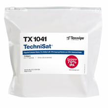 Picture of TechniSat® TX1041 Pre-Wetted Nonwoven Cleanroom Wipers, Non-Sterile