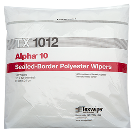 Picture of Alpha® 10 TX1012 Dry Cleanroom Wipers, Non-Sterile