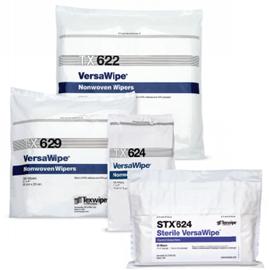 VersaWipe® Dry Nonwoven Cleanroom Wipers, Sterile, Non-Sterile
