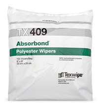 Picture of Absorbond® TX409 Dry Nonwoven Cleanroom Wipers, Non-Sterile