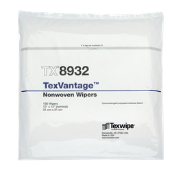 Picture of TexVantage™ TX8932 Dry Nonwoven Cleanroom Wipers, Non-Sterile