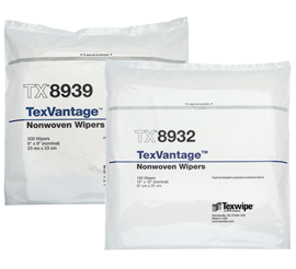 Picture of Texvantage™ Dry Nonwoven Cleanroom Wipers, Non-Sterile
