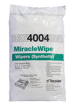 Picture of MiracleWipe® TX4004 Dry Nylon Cleanroom Wipers, Non-Sterile
