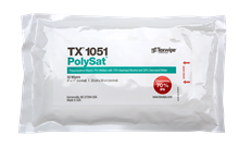 PolySat® TX1051 Pre-wetted Cleanroom Wipers, Non-Sterile